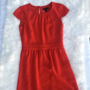J. Crew Red Cocktail Dress